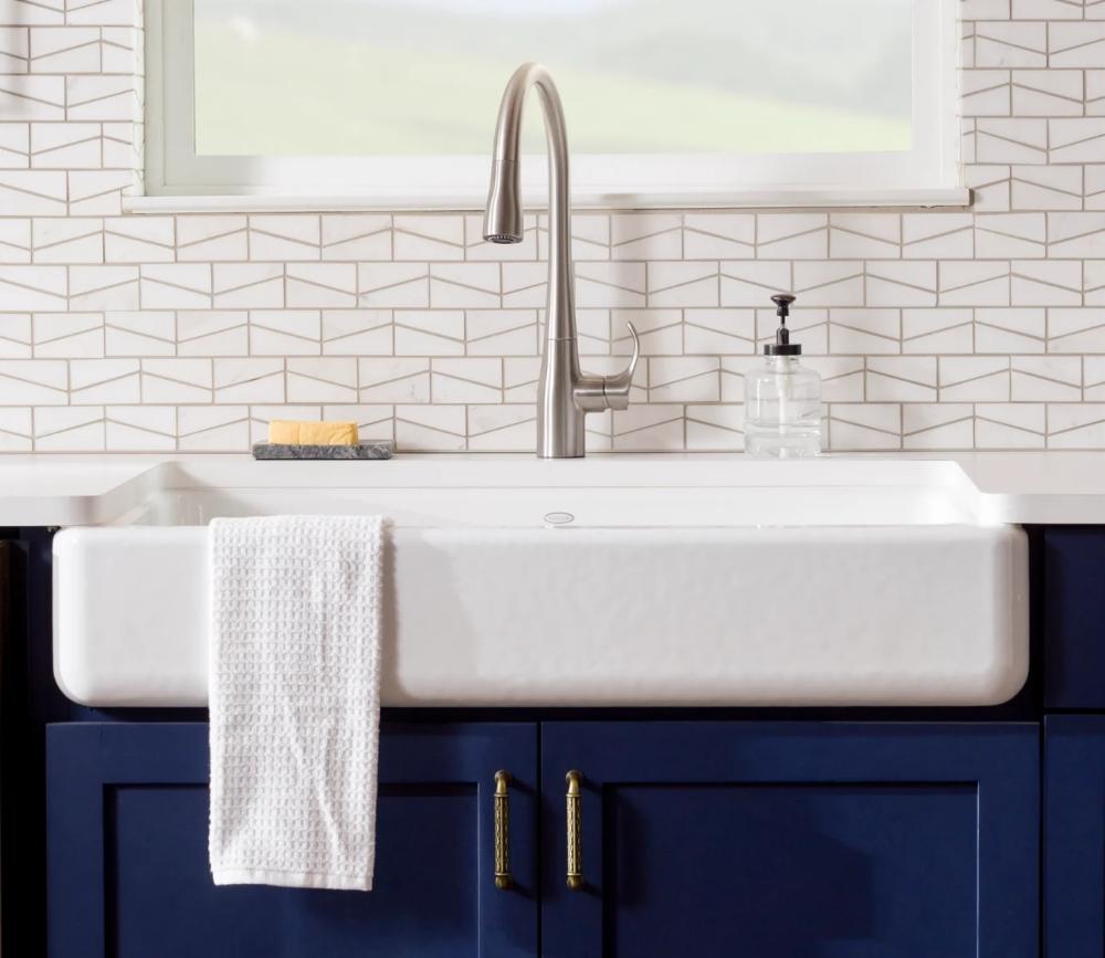Kohler K 6488 With Images Cast Iron Kitchen Sinks Sink