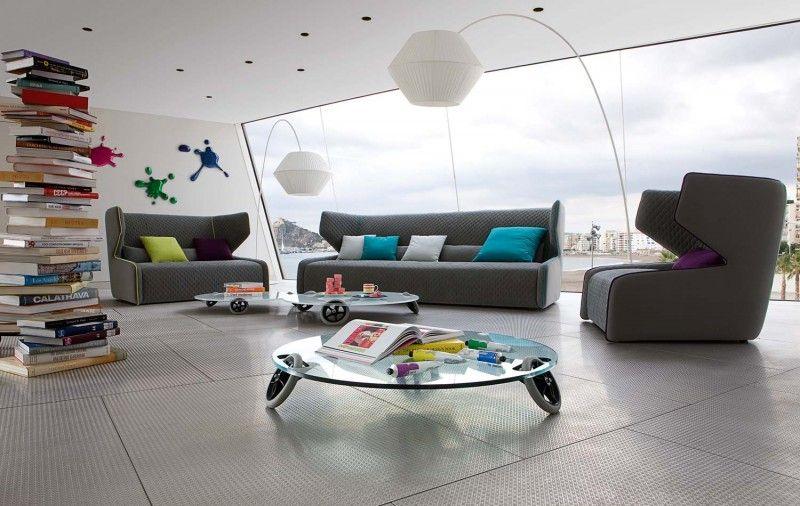 GREY COUCH  CUSHIONS Decorando la casa Pinterest Living room - wohnzimmer ideen braune couch