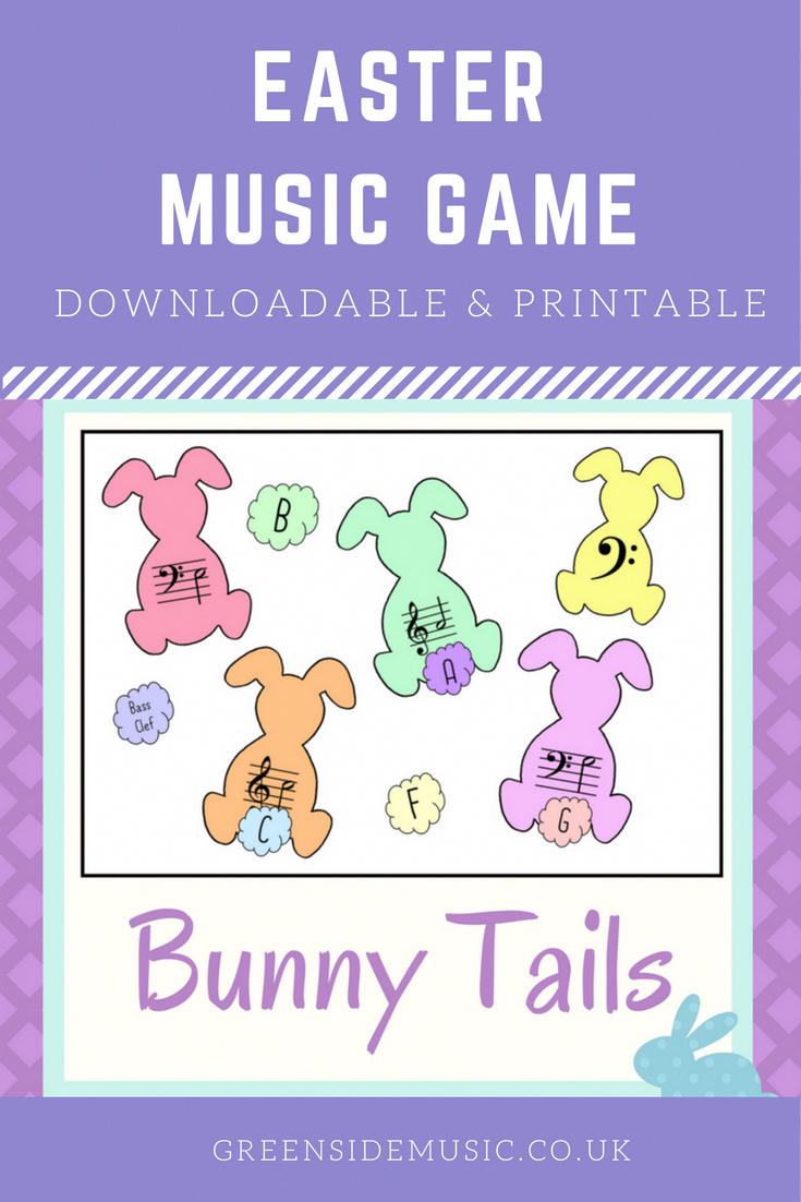 Downloadable and printable music game perfect for playing