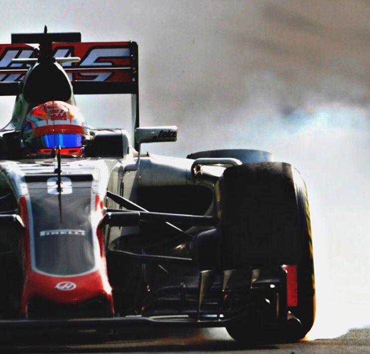 Baku | Europe GP | Romain Grosjean