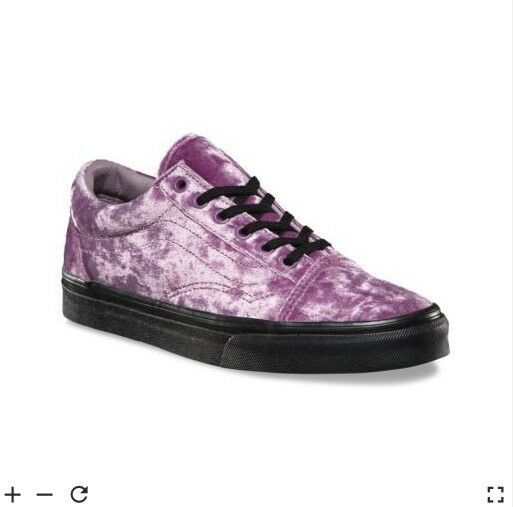 0de85be3f65 New Vans Old Skool Purple Velvet  fashion  clothing  shoes  accessories   womensshoes  athleticshoes (ebay link)