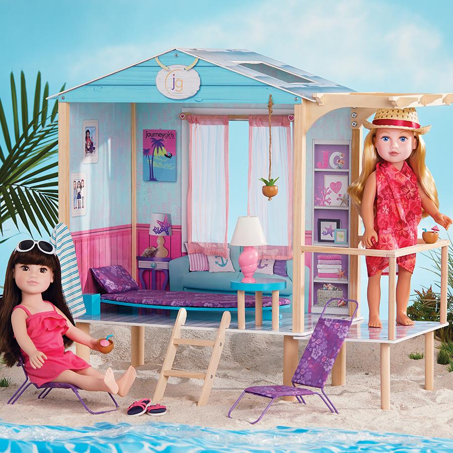 Journey Girls Beach Hut Toys R Us Australia Journey Girl Dolls