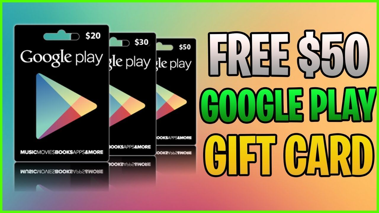 Google Play Gift Card Codes L How To Get Free Google Play Gift Card Code 2020 Google Play Gift Card Gift Card Generator Google Play Codes