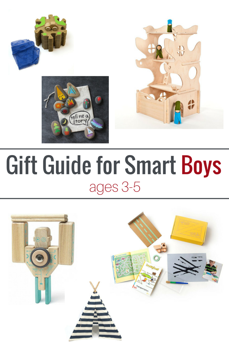 Gift Guide for Smart Boys (3-5 years old) (When At Home ...