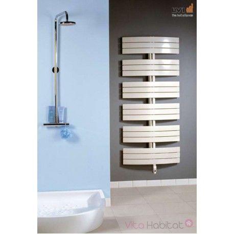 Sèche-serviettes électrique INYO de LVI #vitahabitat #radiateur - Peindre Un Radiateur Electrique