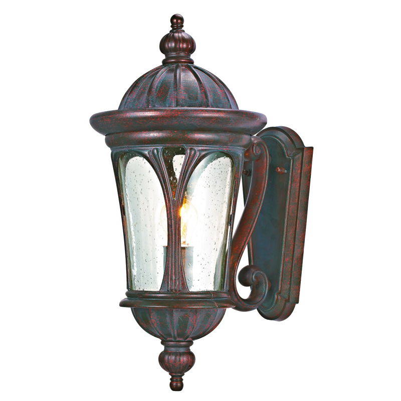 Canada Antique Bronze Finish Outdoor Uplight Wall Light With Clear ...
