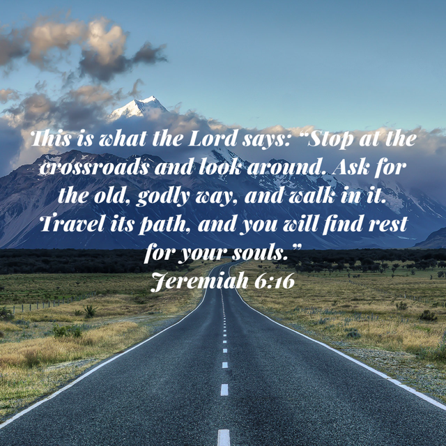 Jeremiah 616 Bible apps, Go and make disciples, Jeremiah 6