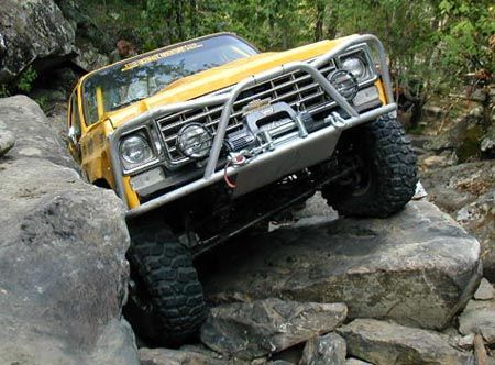 Ord Front Bumper Winch Bumpers Chevy K5 Blazer