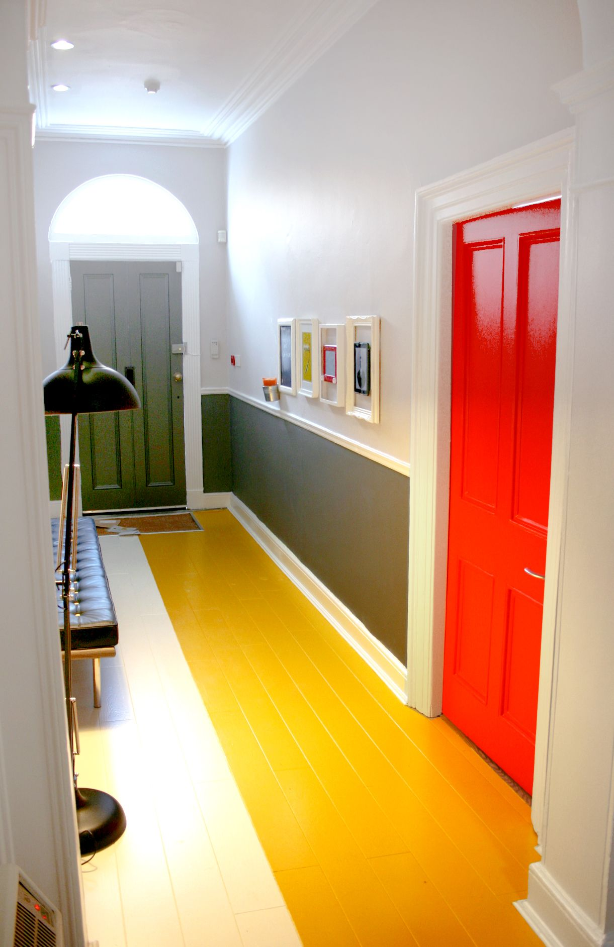 Office Design - Colourful - Statement - Colour Blocking - Hallway ...