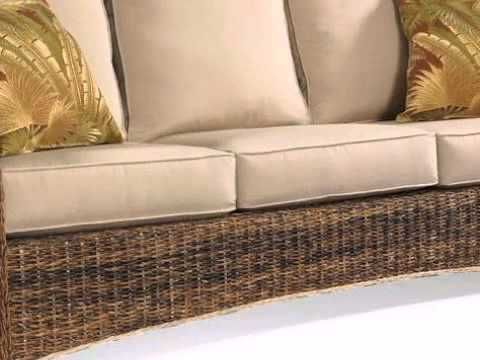 Exceptional Seagrass Sofa St. Kitts Collection   Wickerparadise.com   YouTube