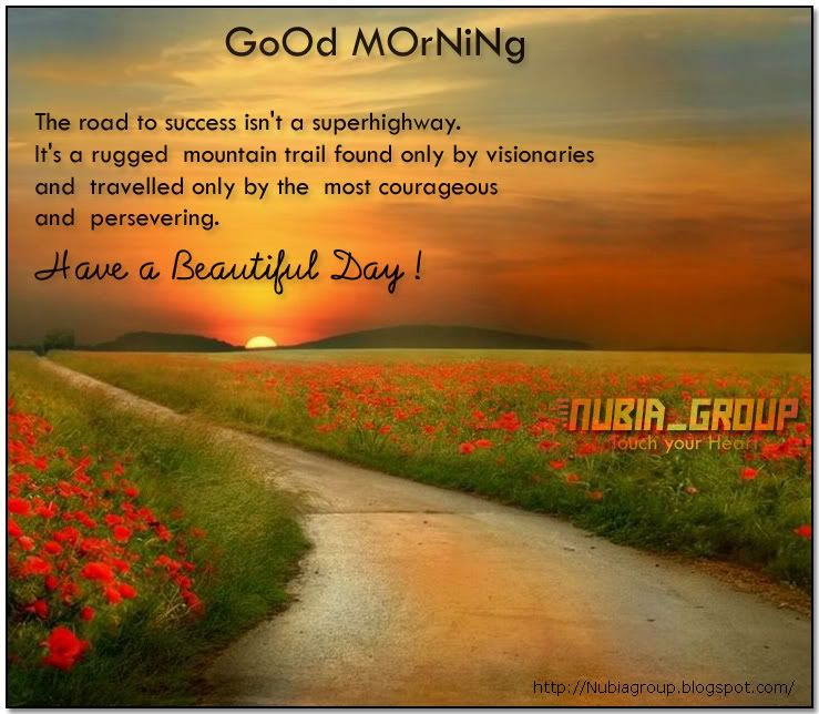 Short Good Morning Quotes For Friends: Good Morning! So Beautiful Poem For