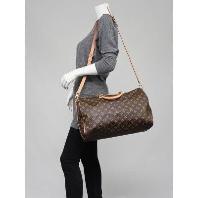 62a4eadd0f8 Louis Vuitton Monogram Canvas Speedy Bandouliere 40 Bag yoogiscloset ...