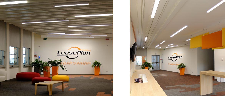 LeasePlan nuova sede Milano Lampade Illuminazione