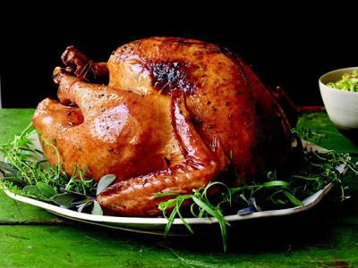 Thanksgiving Famous Herb Butter Turkey Recipe