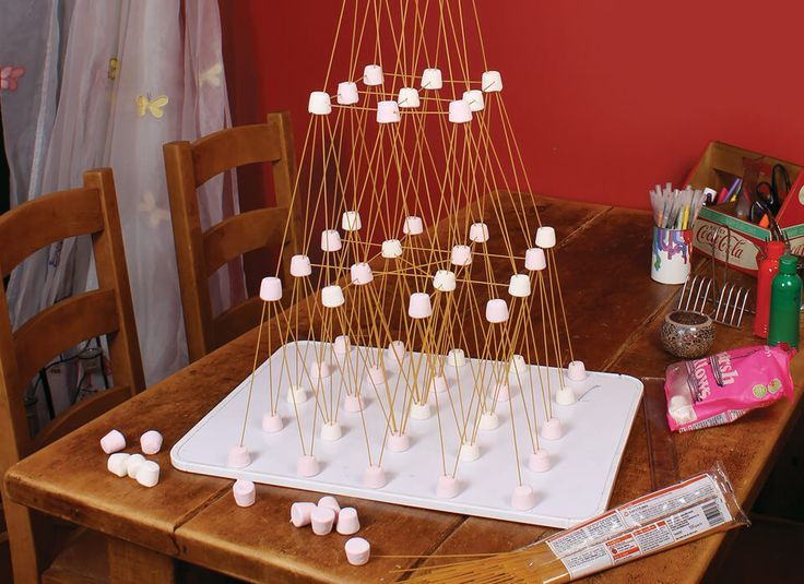 spaghetti marshmallow challenge instructions