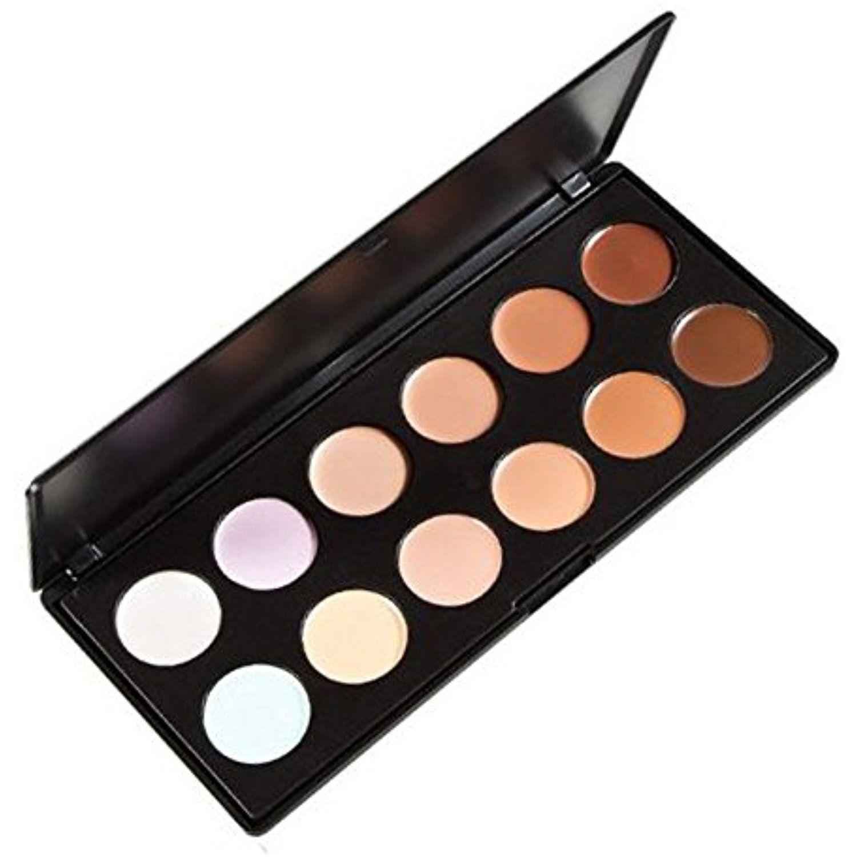 """LEFVâ""""¢ 12 Color Concealer Camouflage Makeup Palette"""