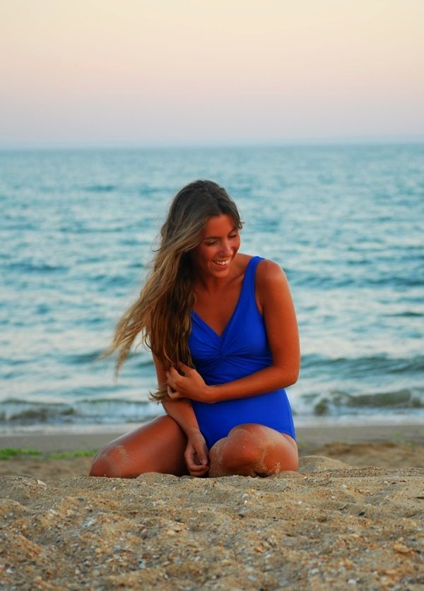 #sansanscloset #swimsuit #blue #beach