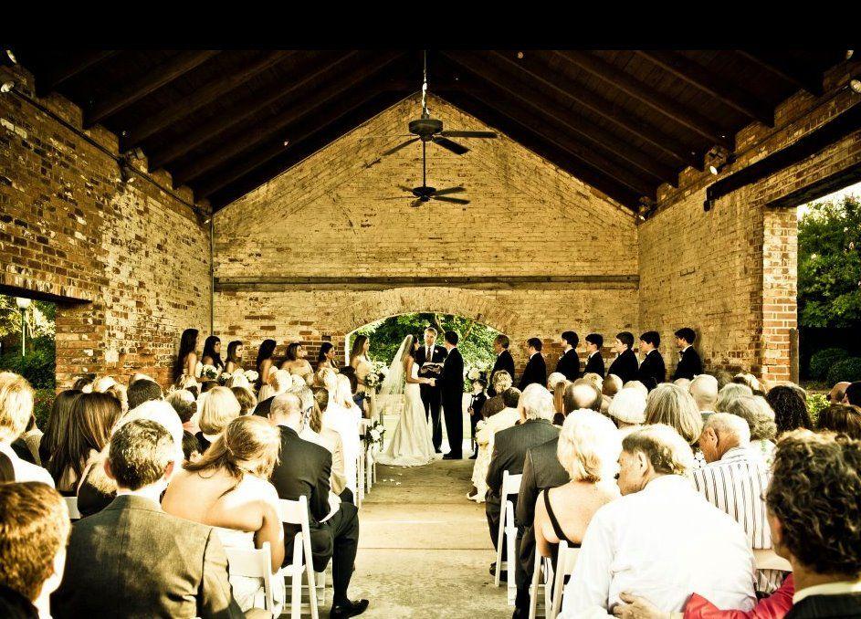 The beautiful Gazebo wedding at Enterprise Mill in Augusta