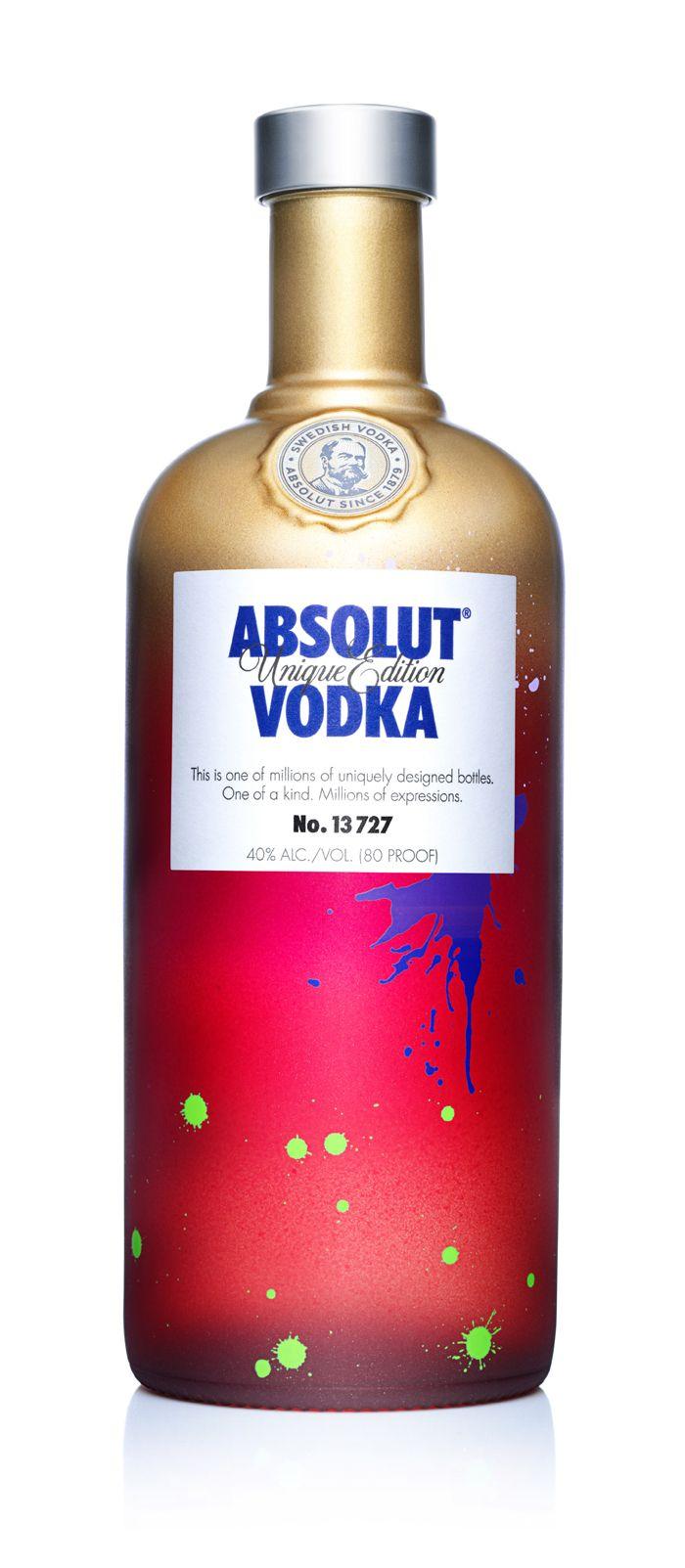 Absolut Unique Vodka Absolut Vodka Vodka Packaging
