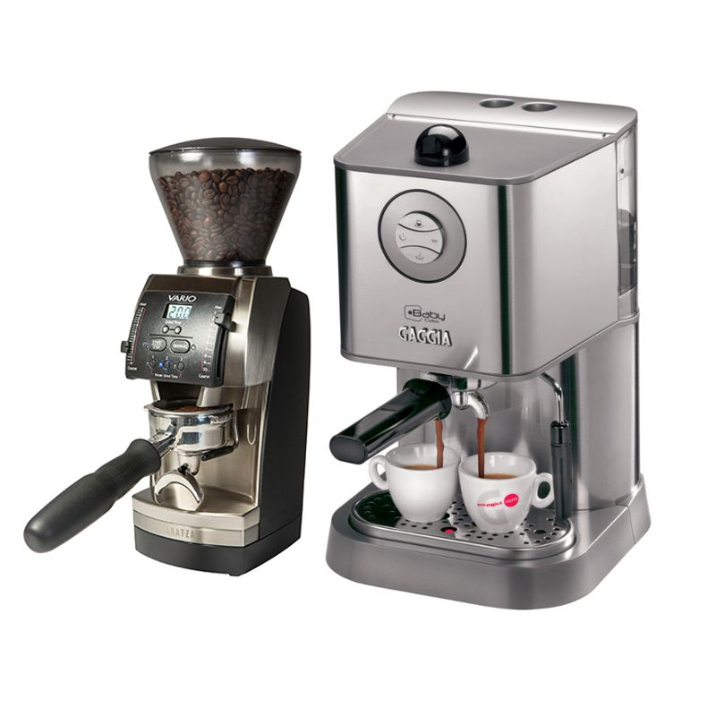 Gaggia Baby Class and Baratza Vario - Whole Latte Love | Espresso ...
