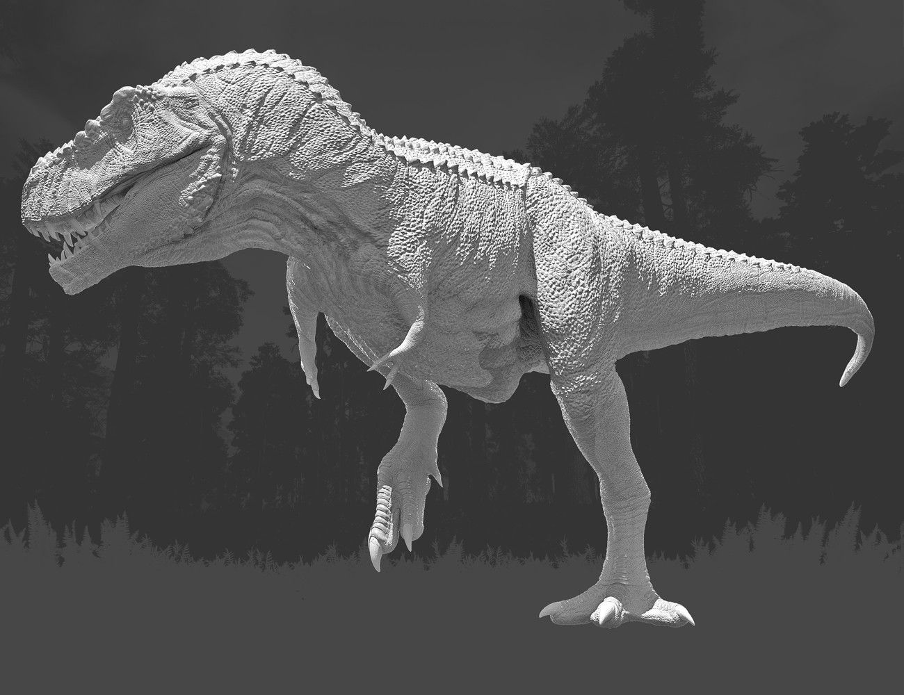 Rip and Tear Pack for Tyrannosaurus Rex 2 | 3D Models and 3D