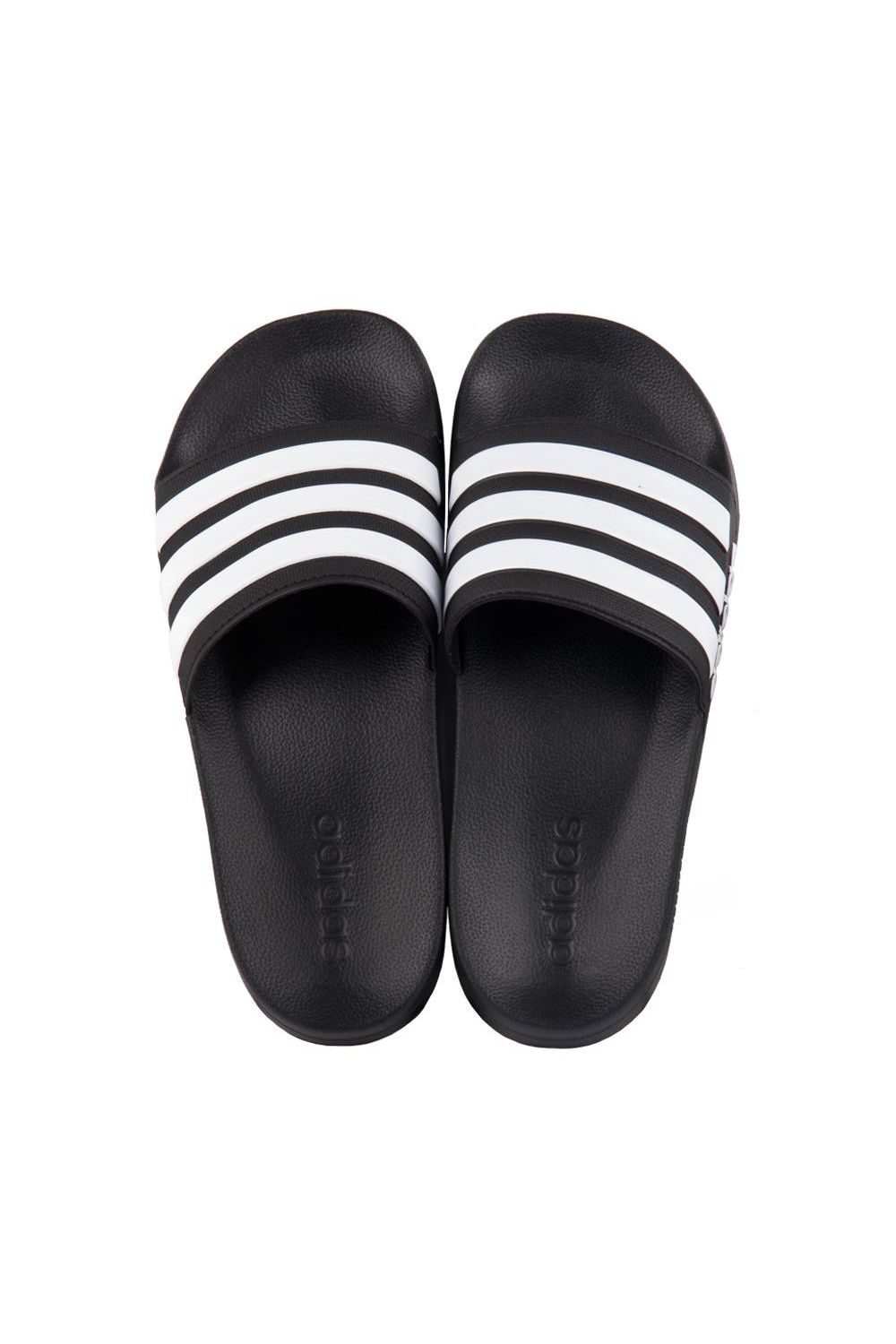 95f1de77e0 Chinelo Adidas Slide Adilette Shower Preto Branco