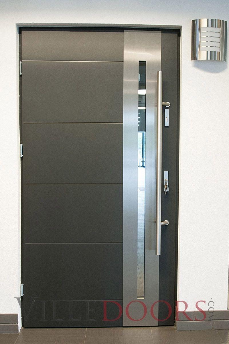 Stainless Steel Door Handles For Glass Doors Modern Exterior Doors Steel Door Design Door Design Modern
