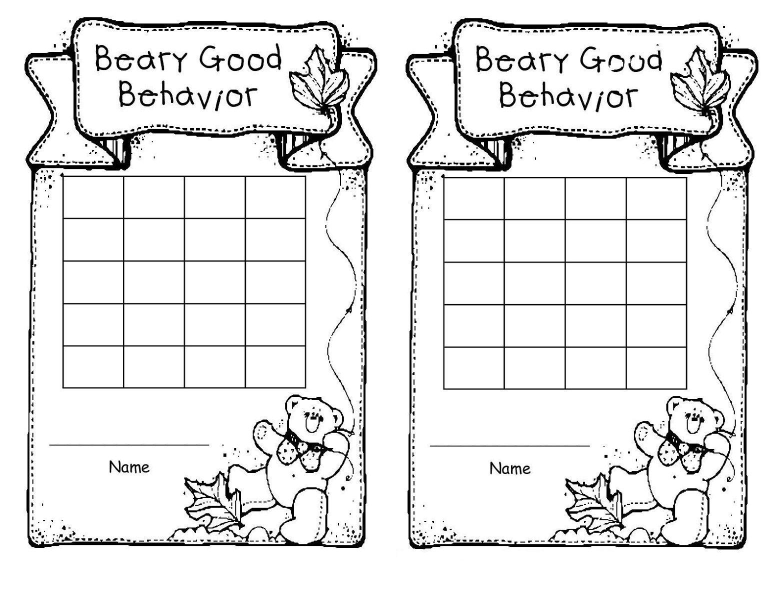 Printable Reward Charts For Best Monitoring