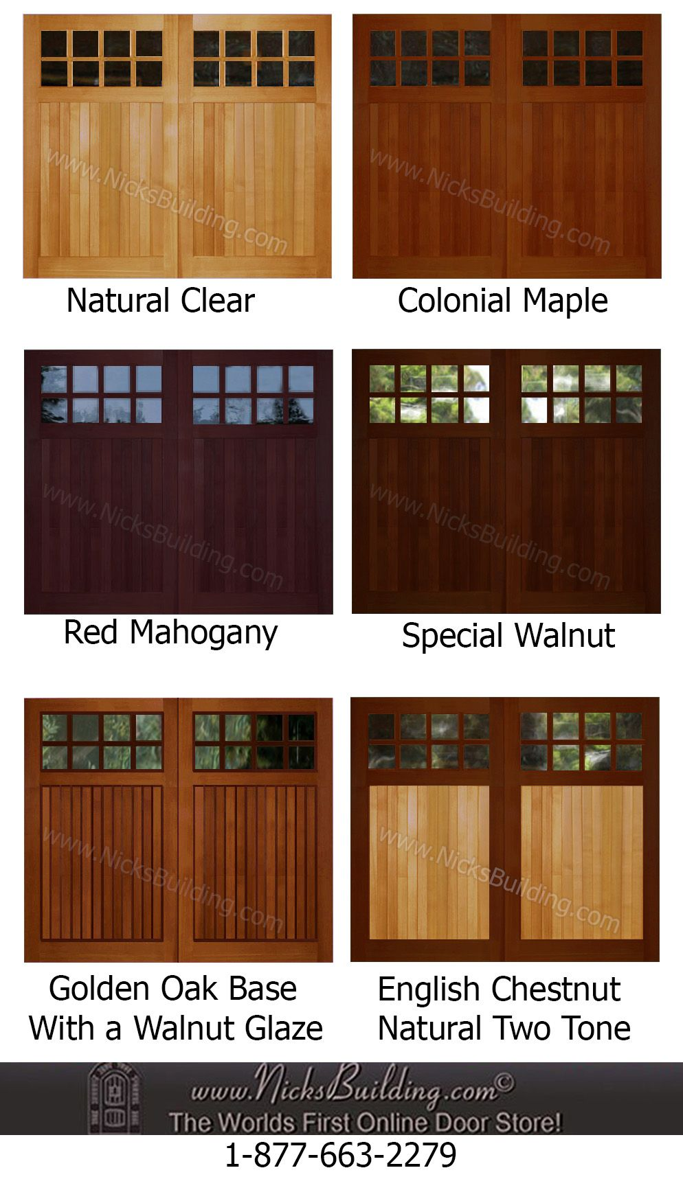 Wood Overhead Garage Door Stain Ideas Need Help