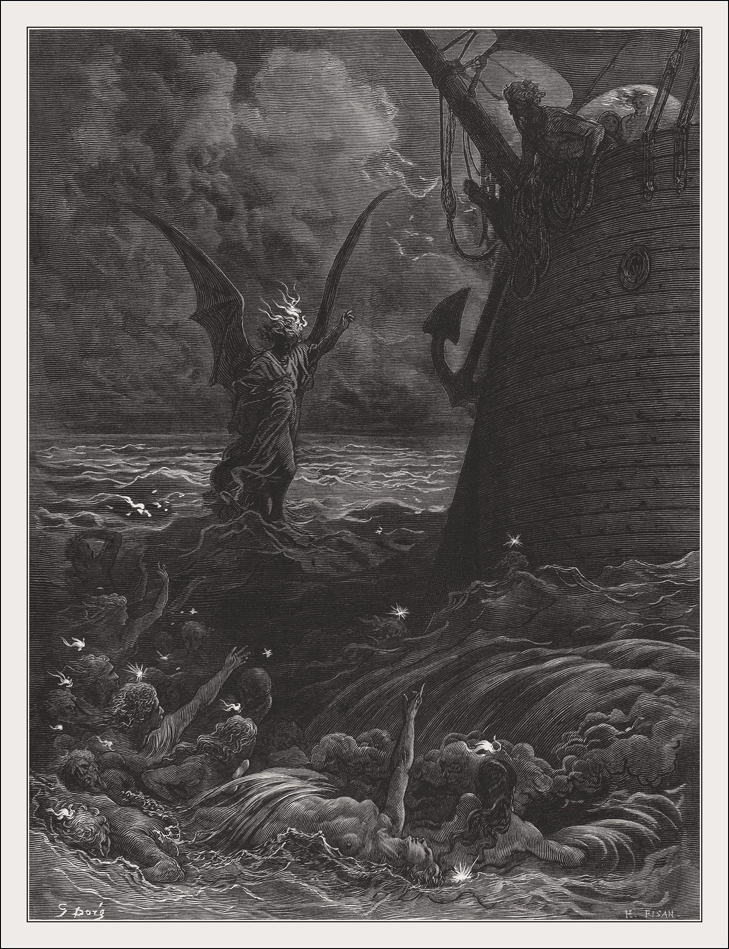 heart of darkness rime of the ancient mariner Heart of darkness, by joseph conrad and the rime of the ancient mariner, by samuel taylor coleridge - marlow and the mariner in heart of darkness and the rime of the ancient mariner are both morally ambiguous characters with many similarities.