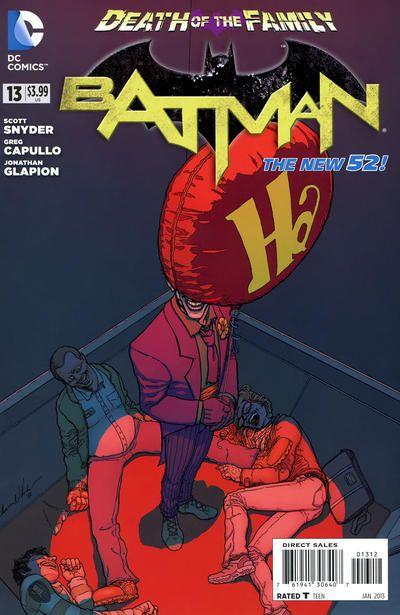 Batman #13 - 2nd Print