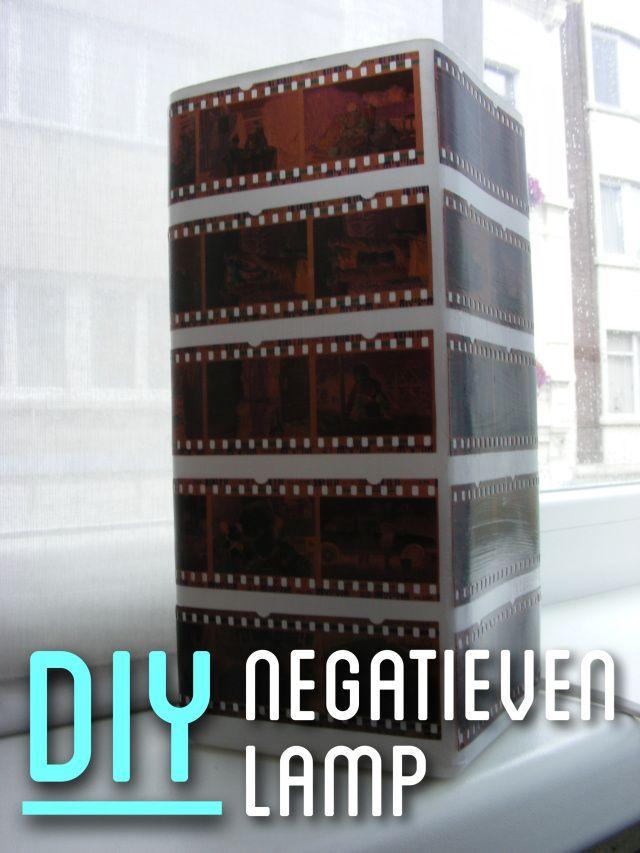 DIY - Negatieven Lamp (www.makenice.nl)