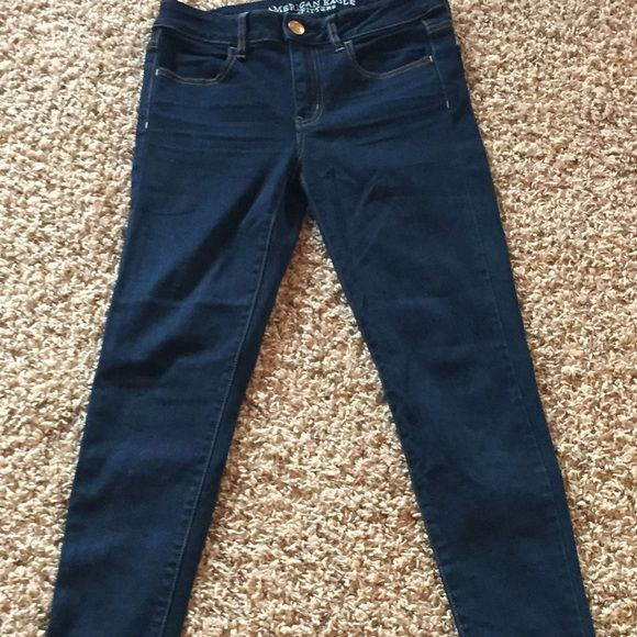 American Eagle Jeans Only worn once. Very nice. AEO jeggings- super stretch American Eagle Outfitters Jeans Skinny