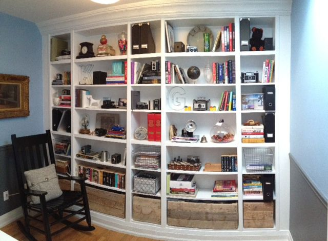Billy Bookcase Desk: How To Use IKEA Billy Bookcases In Unusual Ways