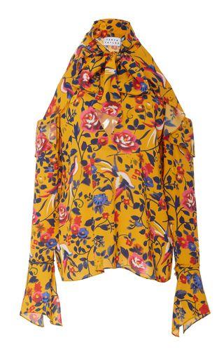 Adriene Bow Top by Tanya Taylor | Moda Operandi