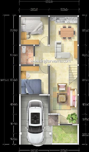 Model Rumah Minimalis Type 78  96 best denah rumah images house design small house