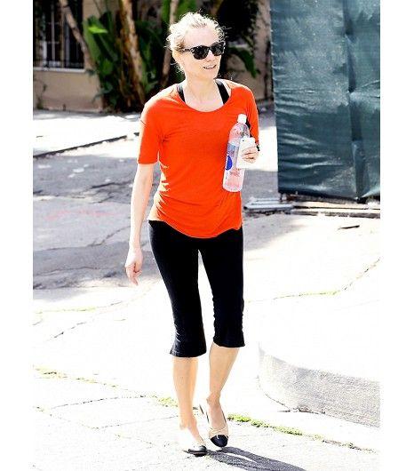 Diane Kruger workout style
