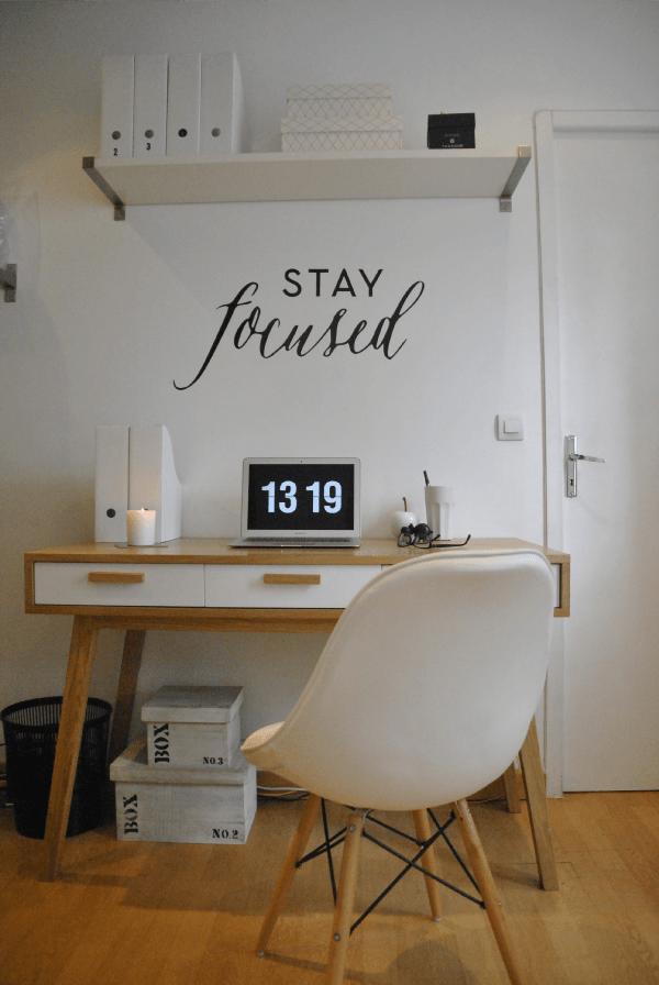 Conseils & astuces déco : Un joli bureau dans un petit espace ...