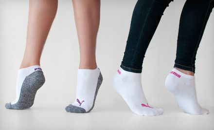 a02d878d22 $20 for 12 Pairs of Women's Puma Sport Lifestyle Socks ($36 Value ...