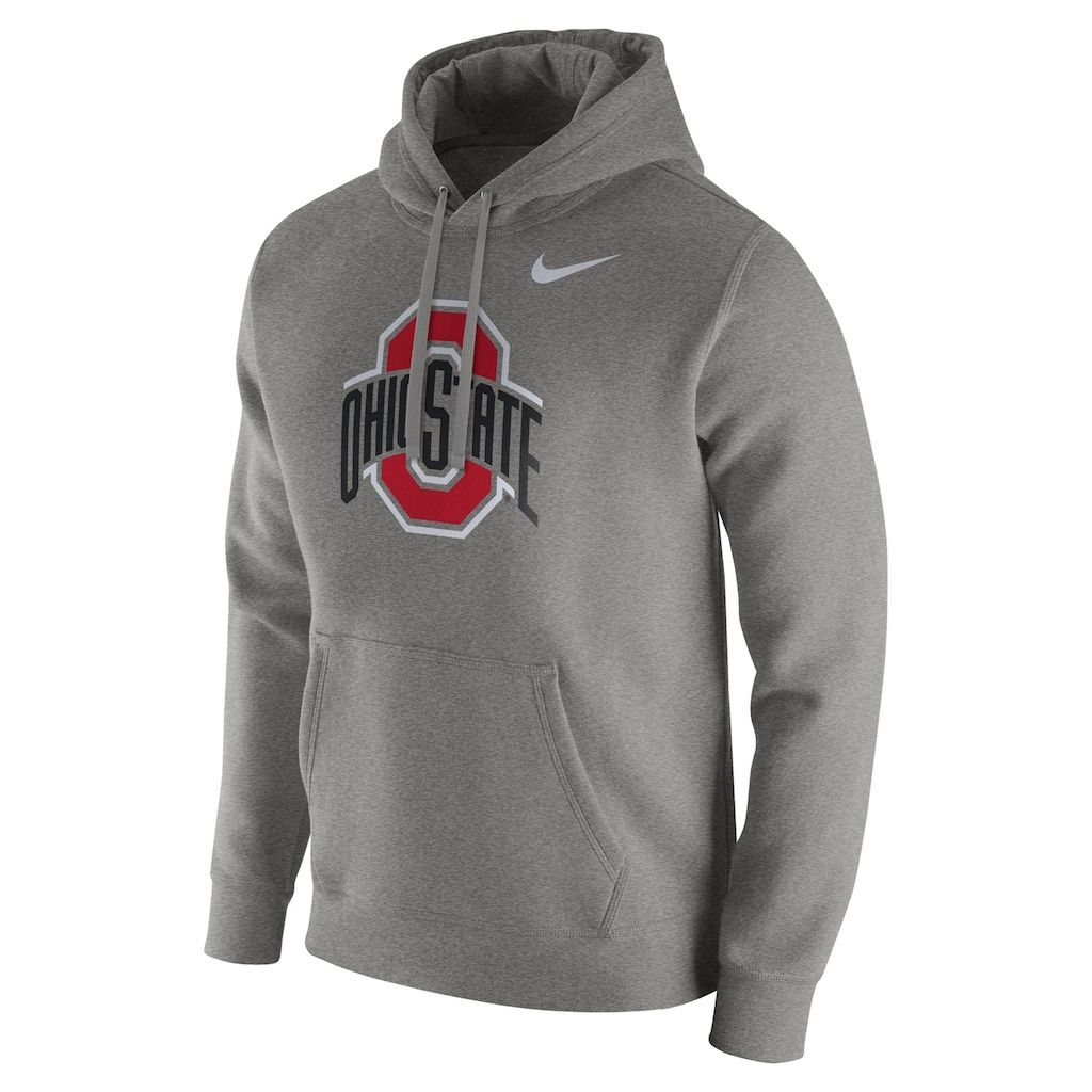nike air max thea womens grey and white striped ohio state sweatshirt