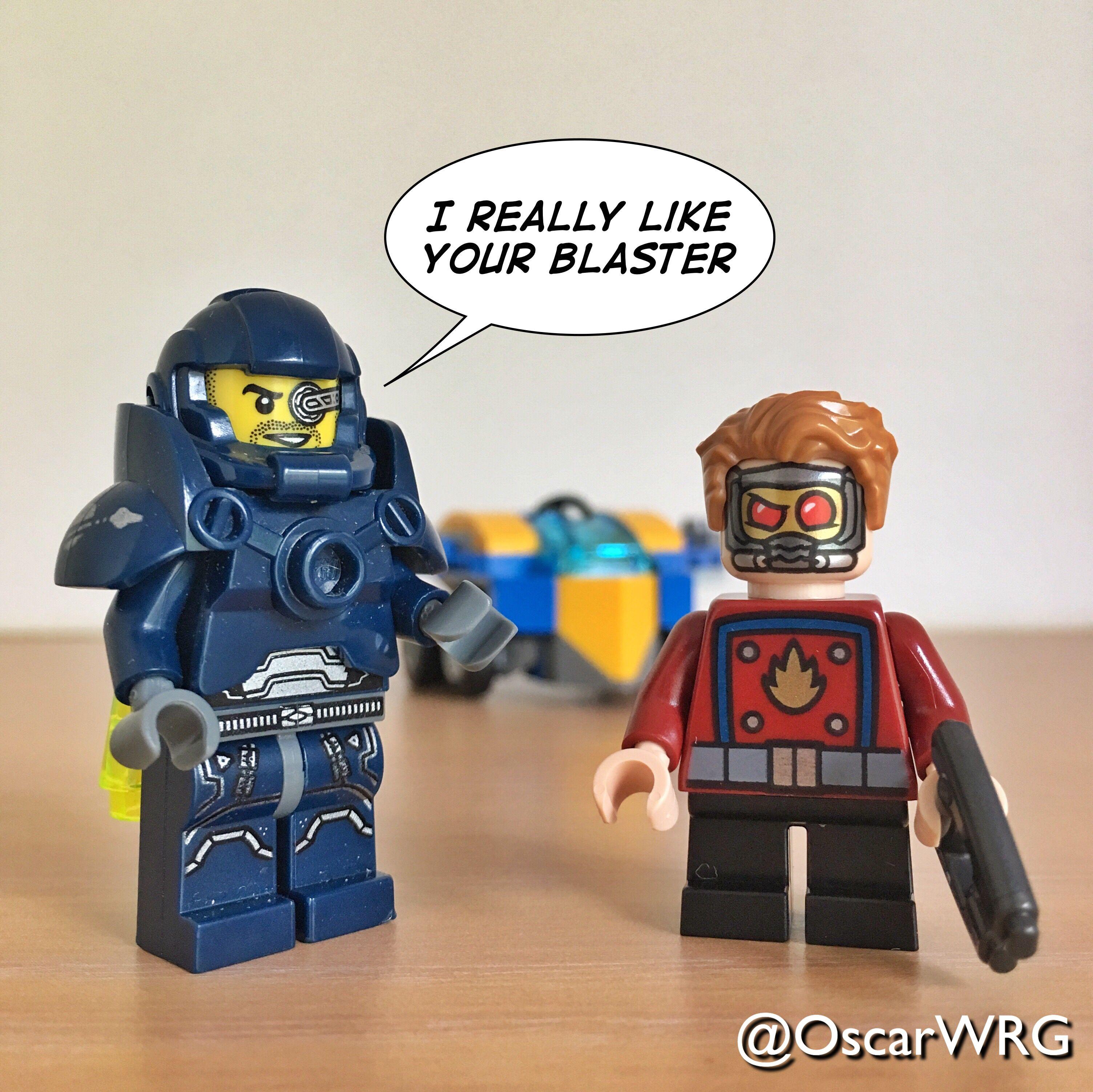 #Lego Galaxy Patrol #Lego #Legomightymicros #Starlords #Space #Blaster #Spaceblaster