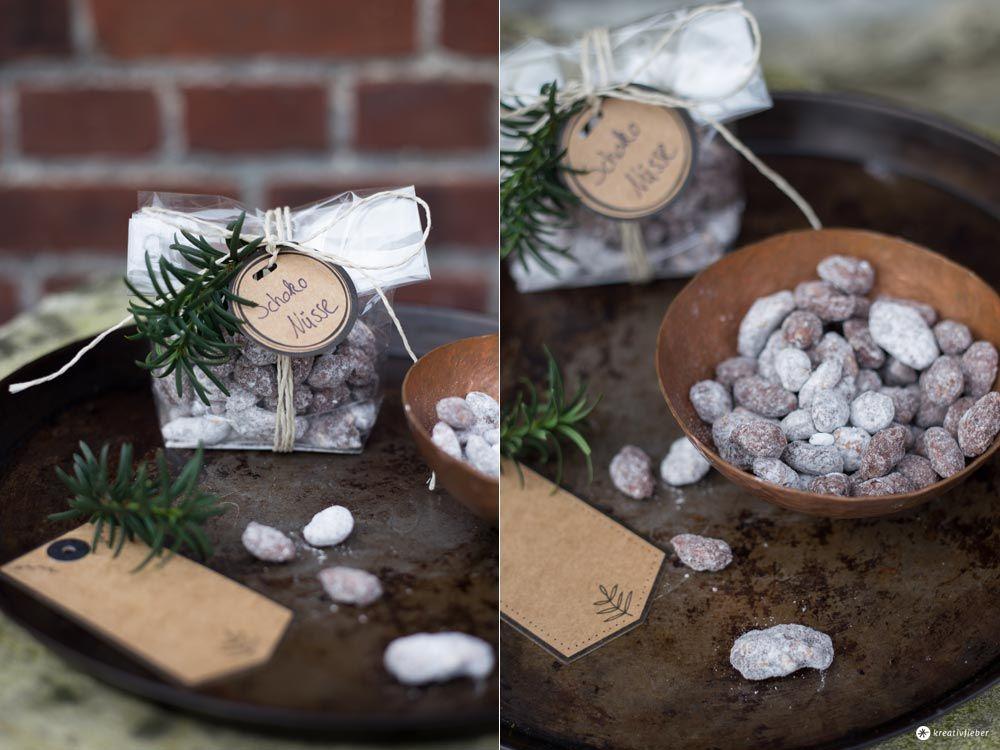 geschenke aus der küche - schokonüsse selbermachen - mitbringsel ... - Geschenke Aus Der Küche Weihnachten