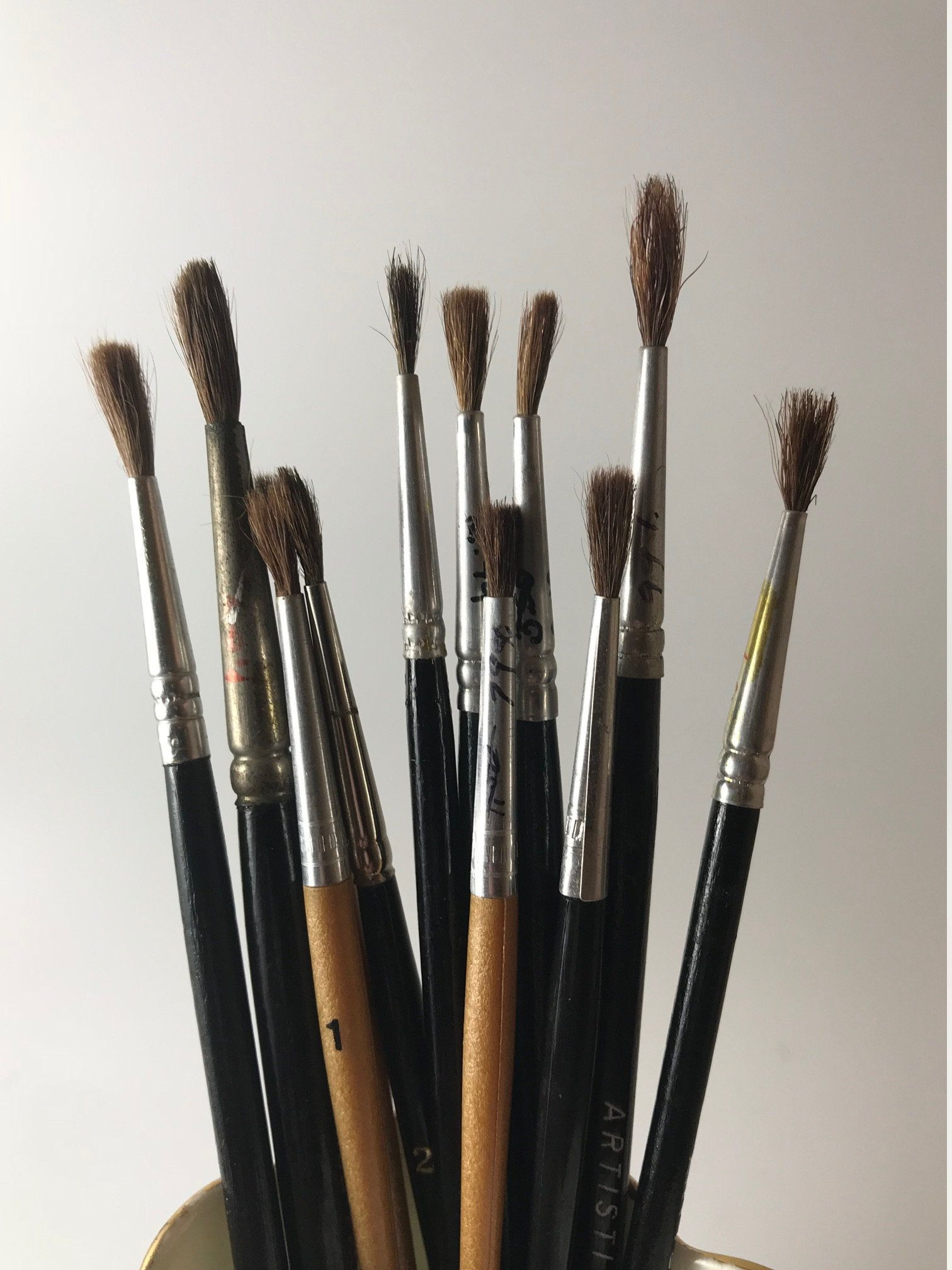 Utrecht Natural Chungking Pure Bristle Brushes Blick Art Materials Brush Oil Painting Supplies Pure Products