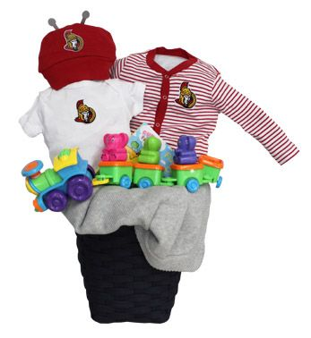 Ottawa Senators Red Baby Basket