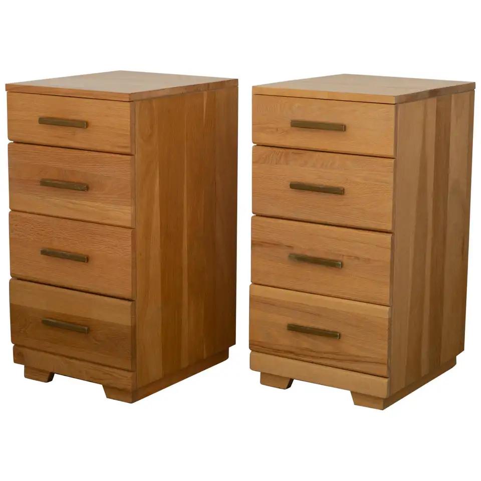 Pair of Raymond Loewy for Mengel Furniture Nightstand/Side
