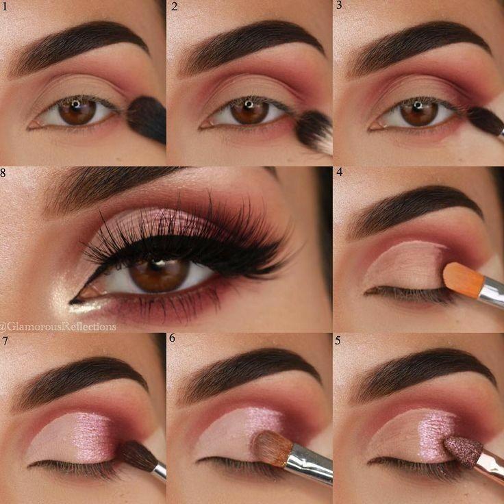 пошаговые картинки макияжа глаз отметить, что поведение
