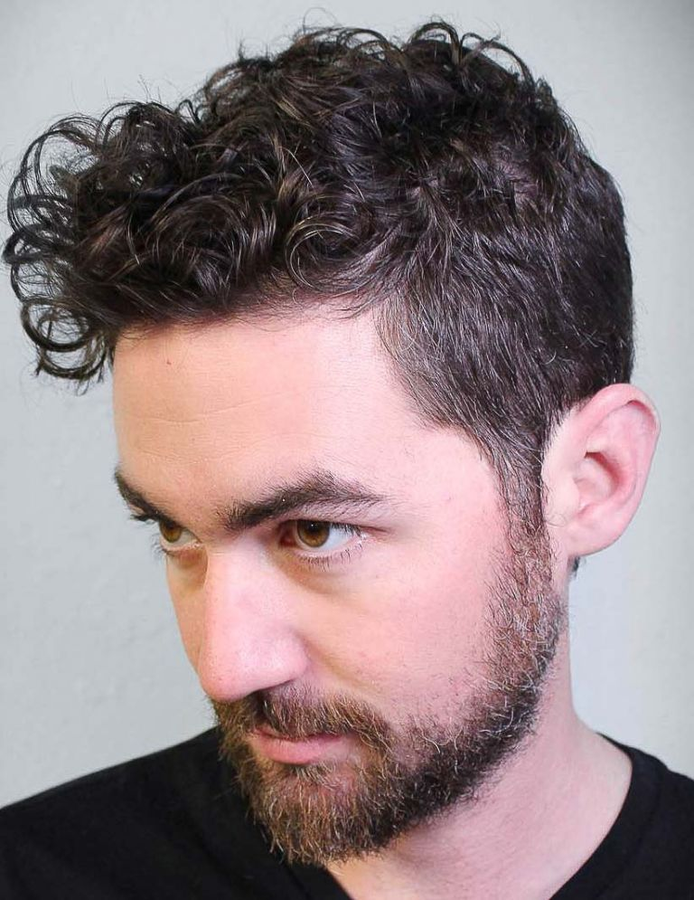 40 Modern Men S Hairstyles For Curly Hair That Will Change Your Look Mens Hairstyles Curly Curly Hair Styles Curly Hair Trends