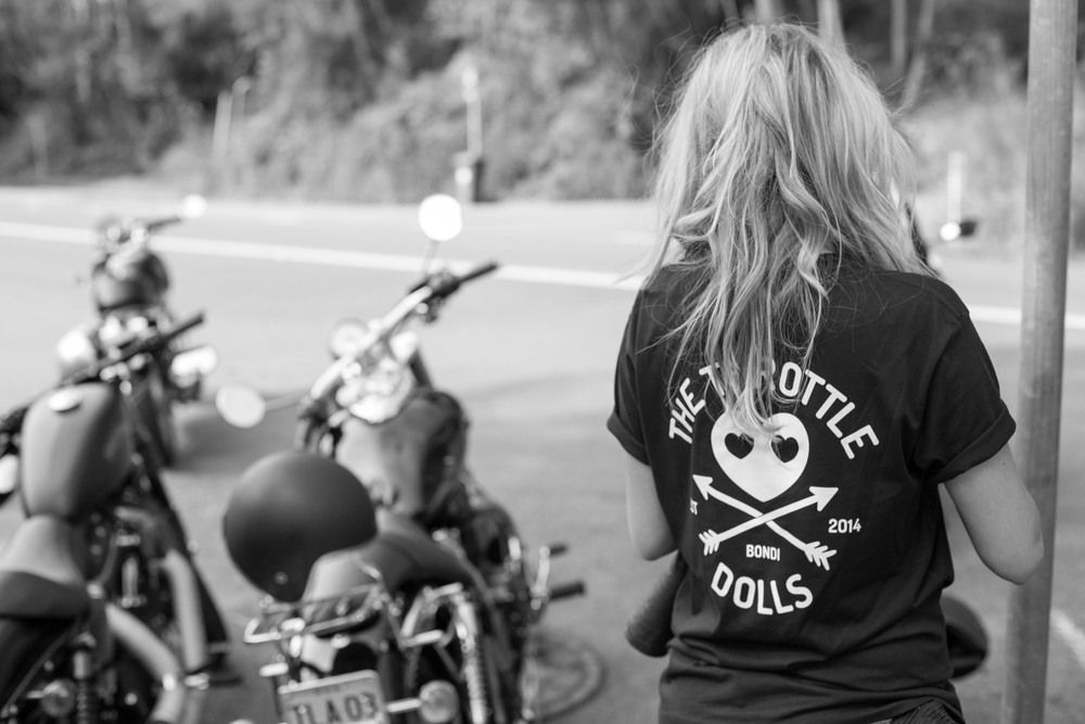 The Throttle Dolls Ride | Sydney — In Venus Veritas