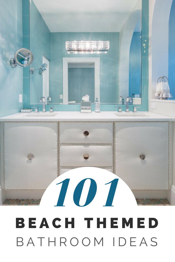 101 Beach Themed Bathroom Ideas Beach Theme Bathroom Beach
