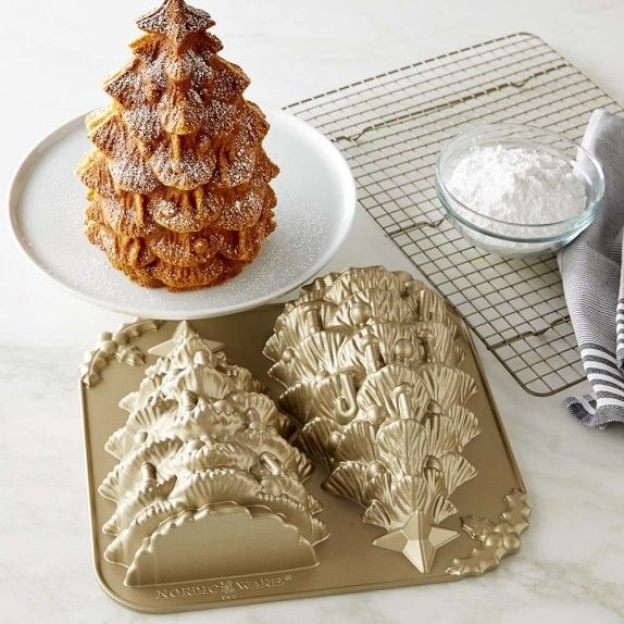 Nordic Ware Tree Cake Pan Tea Cakes Cake Baking Pans Tree Cakes